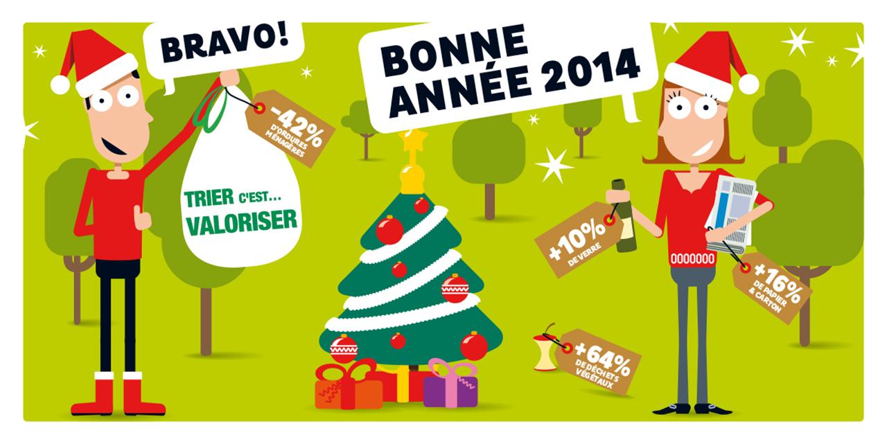 Carte de vœux 2014.
