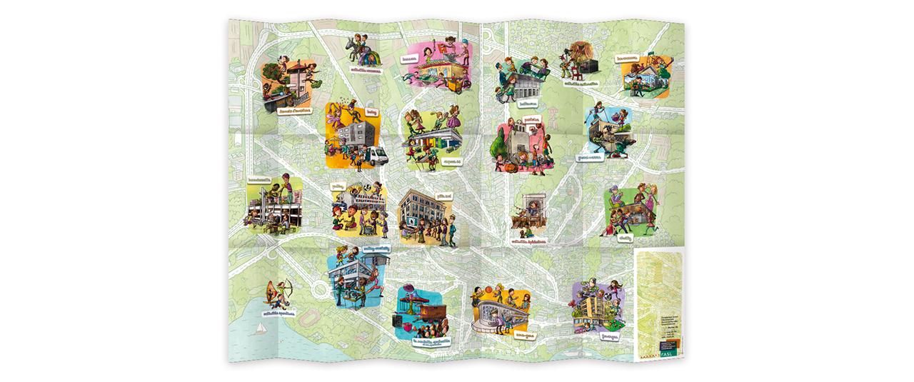 Carte des maisons de quartier