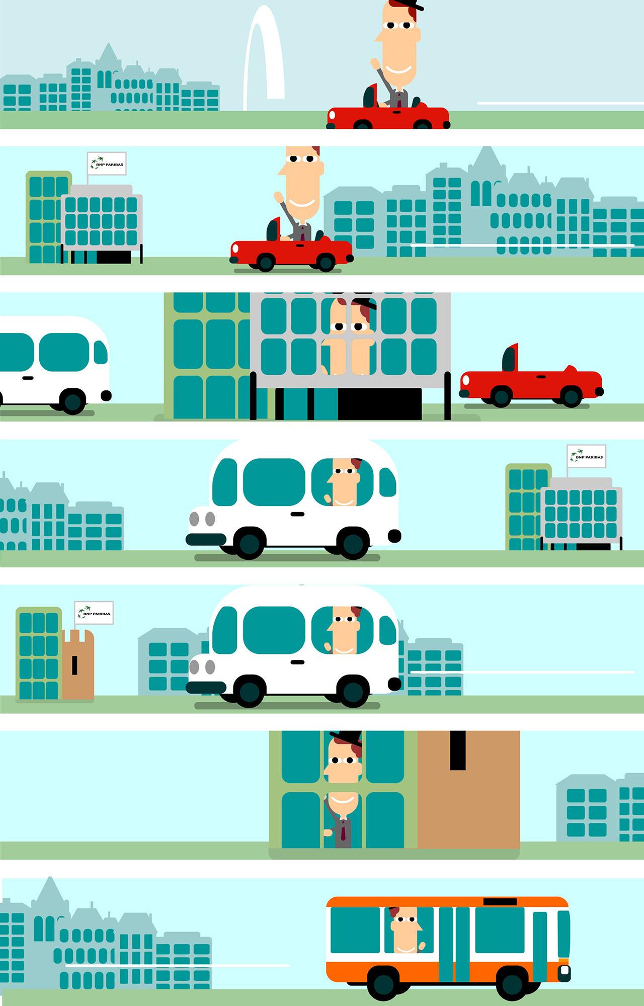 La mobilité chez BNP Genève