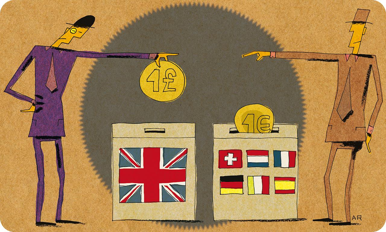 Les taxes européen
